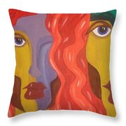 In Your Shadow II Throw Pillow