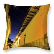 Incan Street Cusco Peru Throw Pillow
