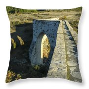 Incekaya Aqueduct Throw Pillow