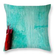 Incense 05 Throw Pillow