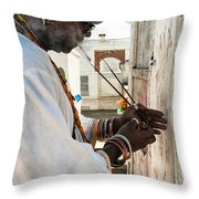 Incense For Marie Laveau Throw Pillow by Kathleen K Parker
