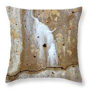 Incidental Art 7 Throw Pillow