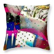 Incognito Throw Pillow by Eleni Mac Synodinos