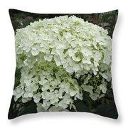 Incrediball Hydrangea Throw Pillow