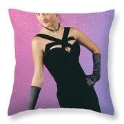 Indecentproposaldress Throw Pillow