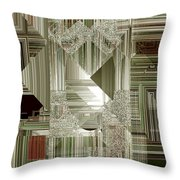 Indecision I Throw Pillow