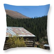 Independence Colorado Throw Pillow