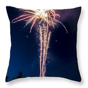 Independence Day 2014 7 Throw Pillow by Alan Marlowe