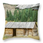Independence Ghost Town Throw Pillow