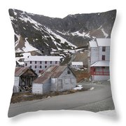 Independence Mine Throw Pillow