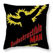 Indestructible Birthday Card Throw Pillow