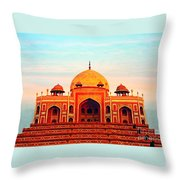 India 7 Throw Pillow