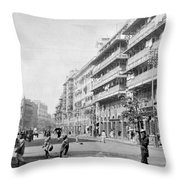 India Bombay Throw Pillow
