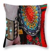 Indian Art Throw Pillow