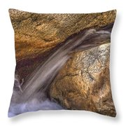 Indian Canyons 11 Andreas Canyon Throw Pillow
