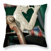 Indian  Chopper Ornament 2 Throw Pillow