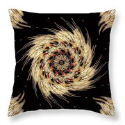 Indian Dance Throw Pillow