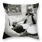 Indian Festival Throw Pillow