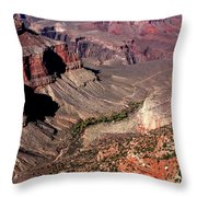Indian Gardens In The Grand Canyon Throw Pillow