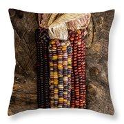 Indian Harvest Corn Throw Pillow
