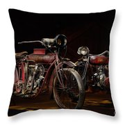 Indian Hedstrom And Powerplus Throw Pillow