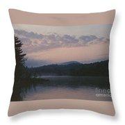 Indian Lake Throw Pillow
