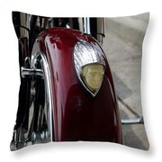 Indian Motorcycle Throw Pillow