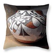 Indian Pot 1 Throw Pillow