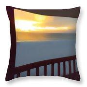 Indian Rocks Clearwater Florida Throw Pillow