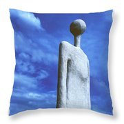 Indian Spirit  Throw Pillow