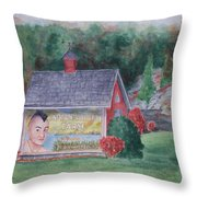 Indian Valley Farm Throw Pillow