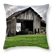 Indiana Barn Throw Pillow