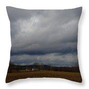 Indiana Farm II Throw Pillow