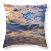 Indiana Sky Throw Pillow