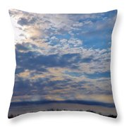 Indiana Sunrise Throw Pillow