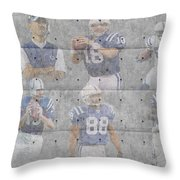 Indianapolis Colts Legends Throw Pillow
