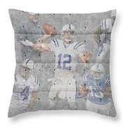 Indianapolis Colts Team Throw Pillow