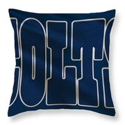 Indianapolis Colts Uniform Throw Pillow