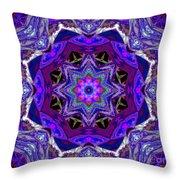 Indigo Intuition Throw Pillow