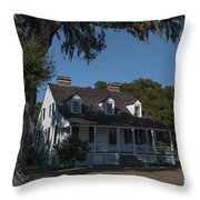 Indigo Rice And Cotton Throw Pillow
