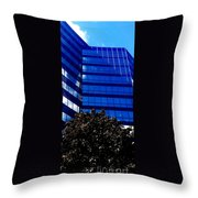 Indigo Tower Throw Pillow