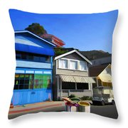 Individualism Throw Pillow