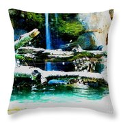 Indoor Nature Throw Pillow