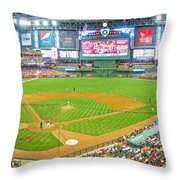 Indoors At Chase Field Throw Pillow