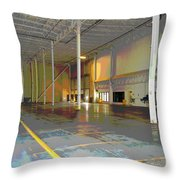 Industrial 2 Throw Pillow