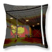 Industrial 3 Throw Pillow