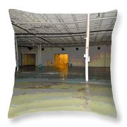 Industrial 4 Throw Pillow