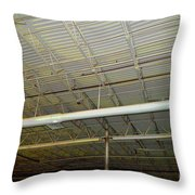 Industrial 5 Throw Pillow