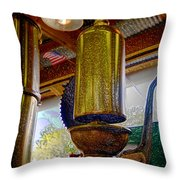 Industrial America Throw Pillow