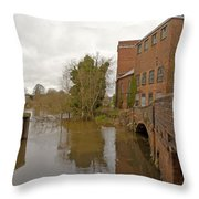 Industrial Architecture Throw Pillow